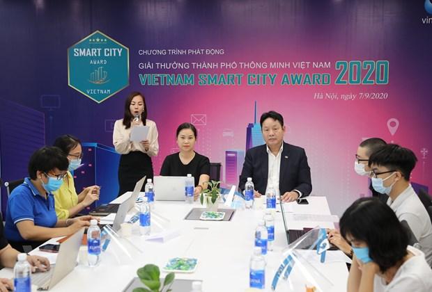 Lần đầu tiên phát động 'Giải thưởng thành phố thông minh'