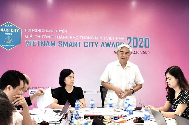 53 Đề cử sẽ được trao Giải thưởng thành phố thông minh Việt Nam 2020 lần thứ nhất vào ngày 24/11