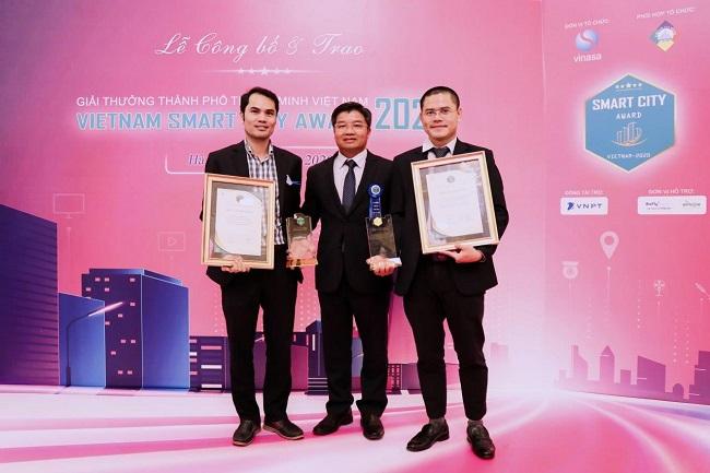 VNPT PAY nhận giải thưởng Thành phố thông minh Việt Nam 2020